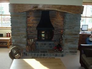 Fireplace Stone Surround builder Neath swansea flagstone hearth