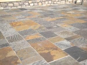 Flagstone Paving Welsh Stone Work Construction Maintenance