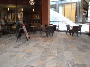 coffee shop sandstone Stone Flooring and Tiles