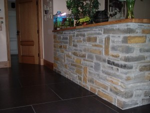 interior stone partition and wall swansea